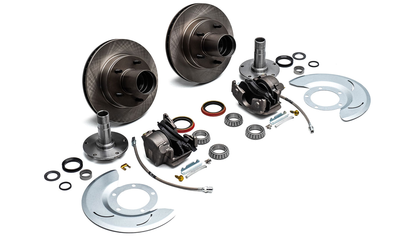 Factory Disc Brakes for 76-77 Ford Bronco