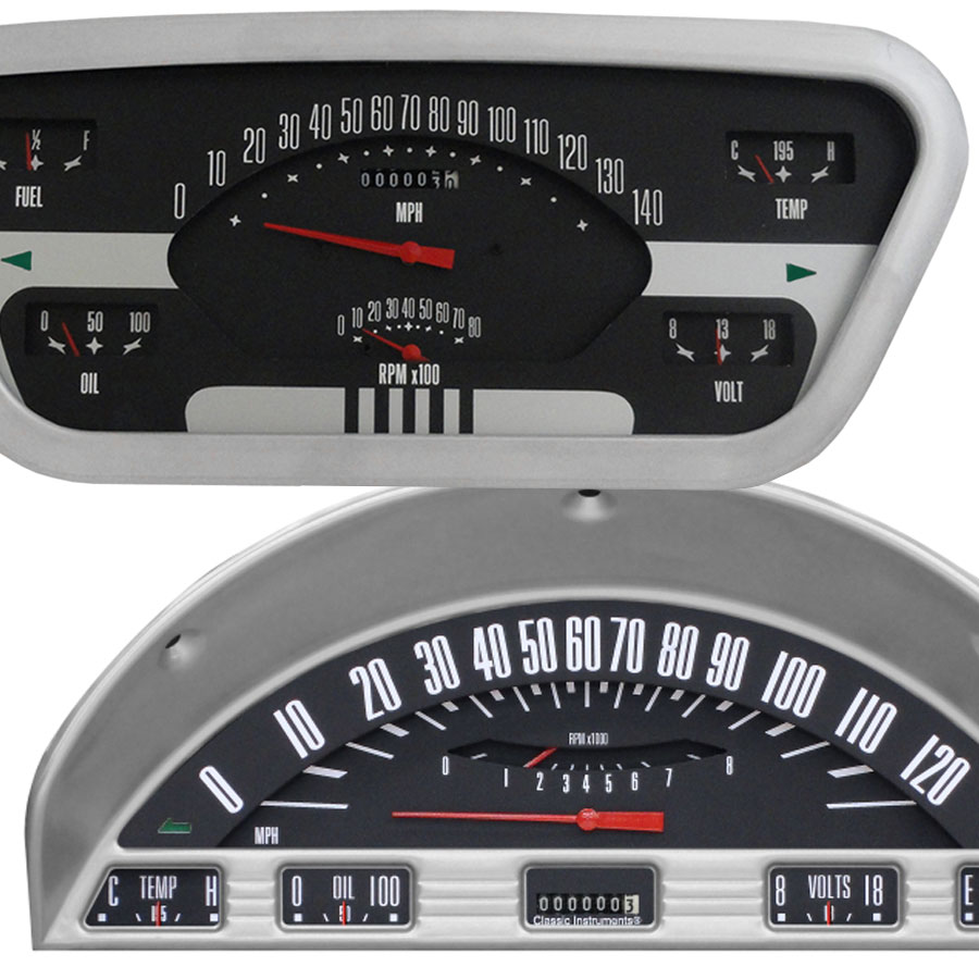 53-56 Ford Truck Instrument Clusters