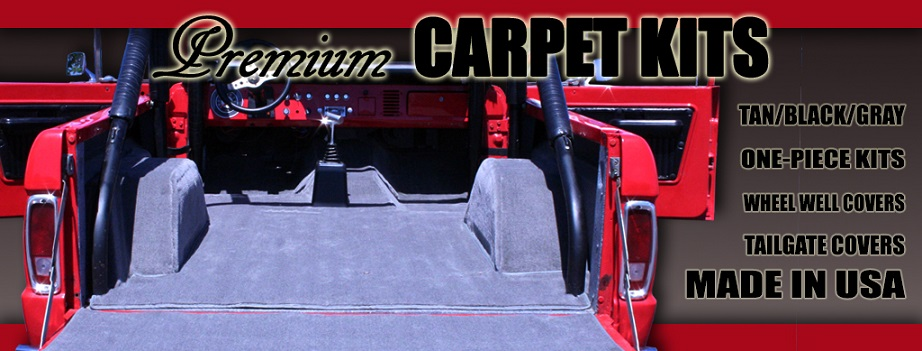 TBP Exclusive Carpet Kits