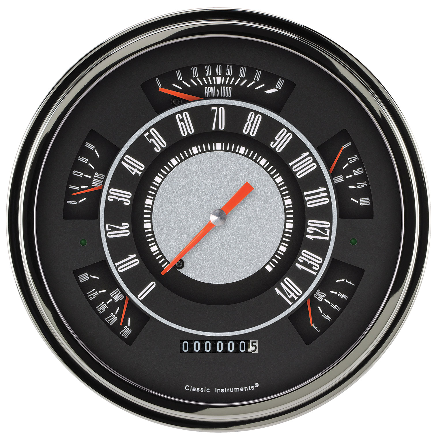 61-66 Ford Truck Instrument Clusters