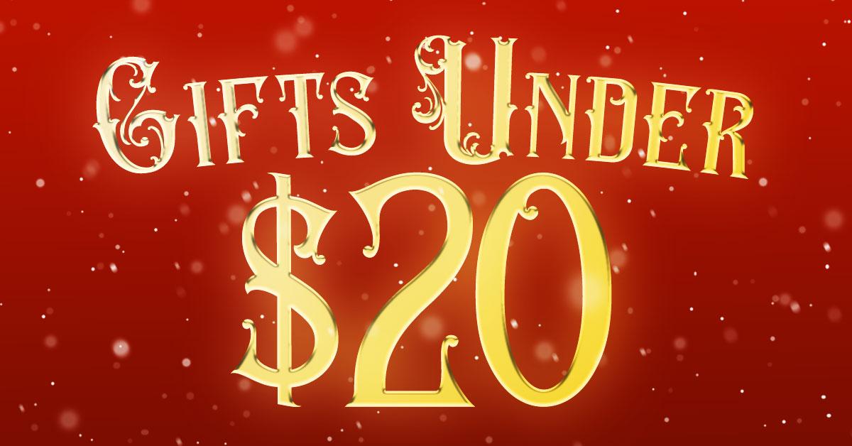 Gift Ideas Under $20