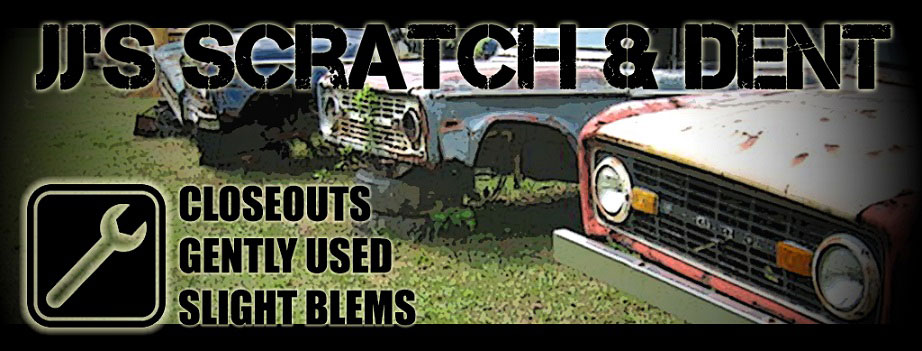 JJ's Scratch & Dent Specials - Great deals on slight blem and overstock Bronco Parts.
