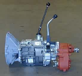 NV4500 5-spd Transmission & Adapter Kit