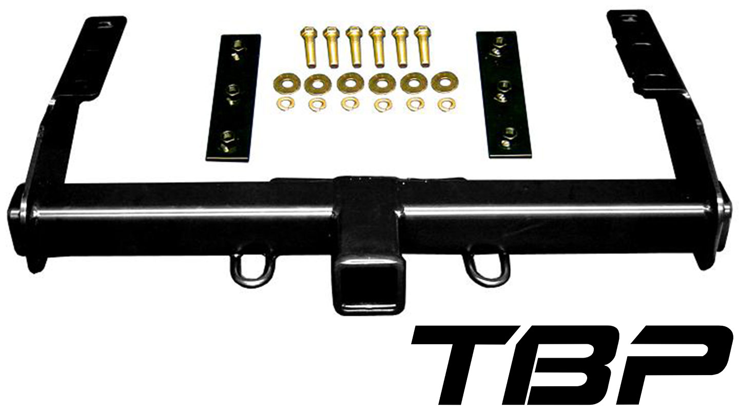 Rear Receiver Hitch, Powder-Coated Black