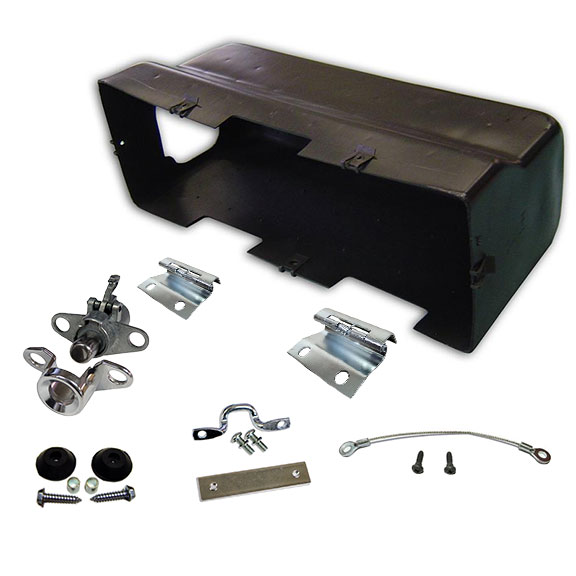Glove box rebuild kit w fuse hole toms bronco parts