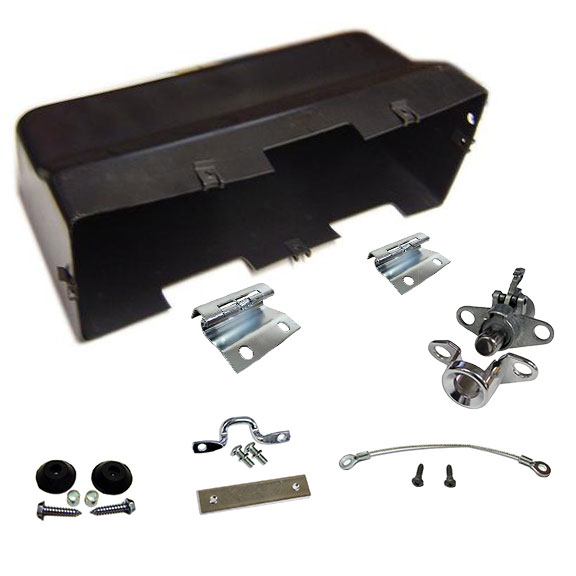 Glove Box Rebuild Kit w/o Fuse Hole