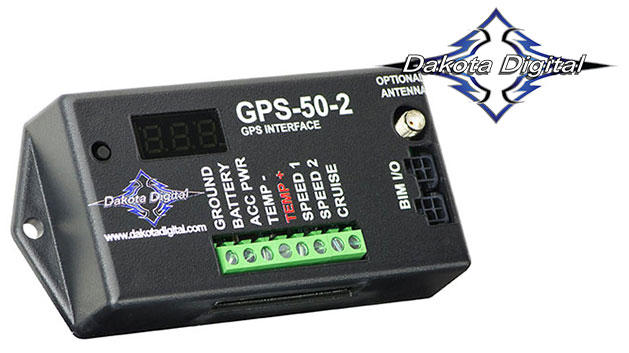 GPS Speed & Compass Expansion Pack for Dakota Digital Clusters