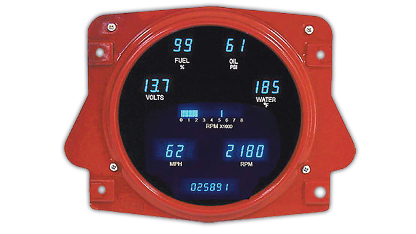 Speedometer - Digital Display, Fits Stock Housing