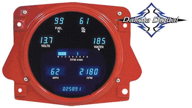 Speedometer - Digital Display, Fits Stock Housing
