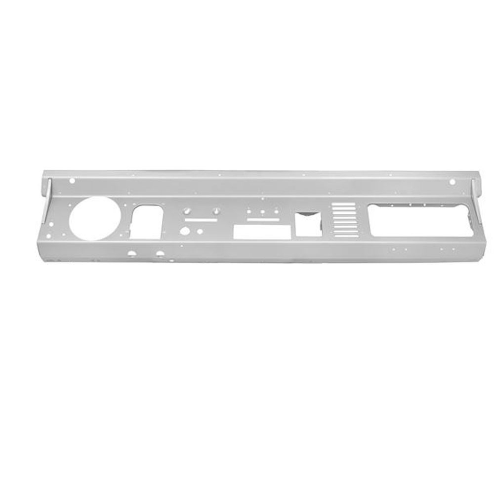 Steel Dash Panel without Radio Cutout, New, 74-77  Style