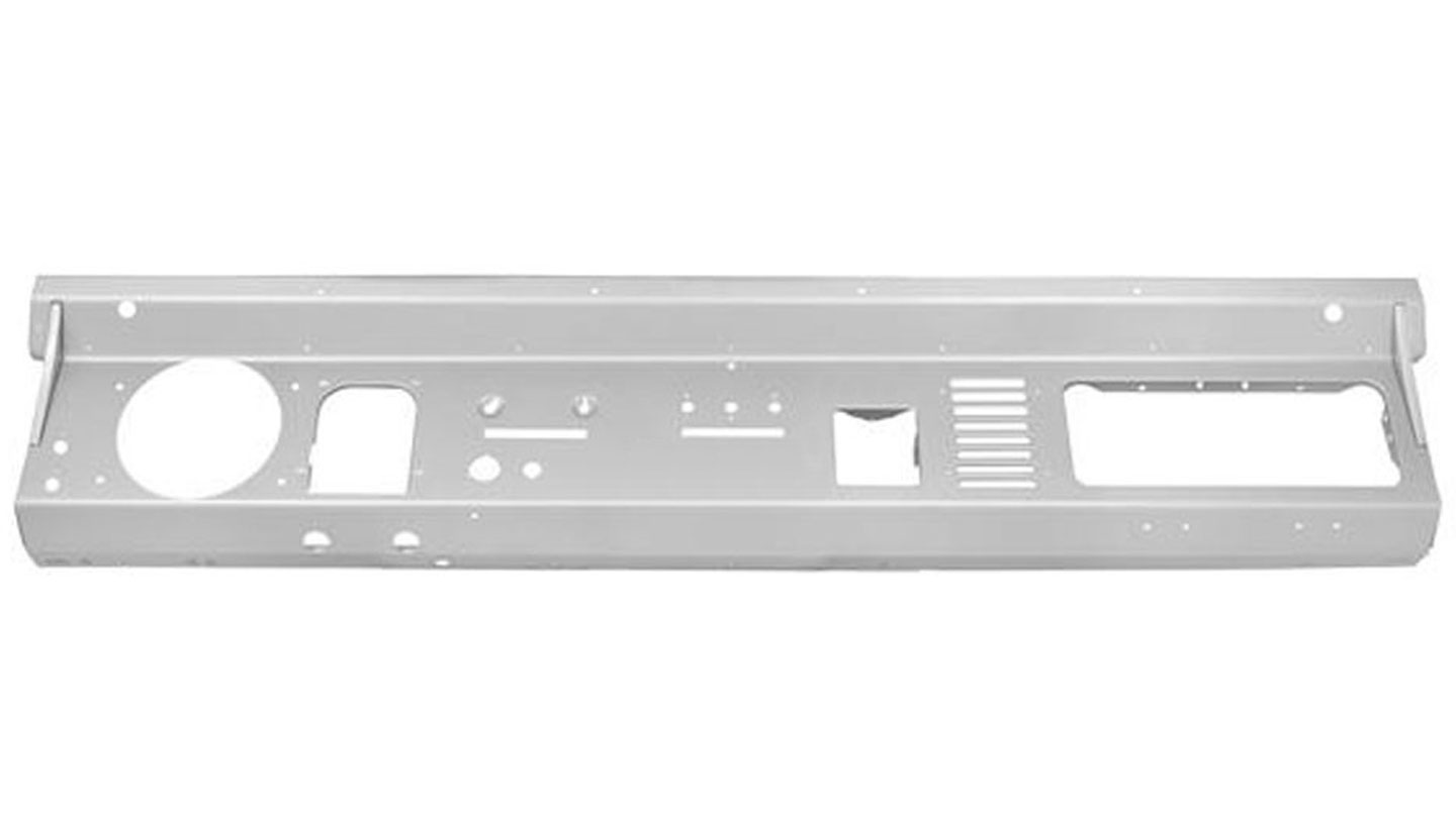 Steel Dash Panel without Radio Cutout, 74-77  Style