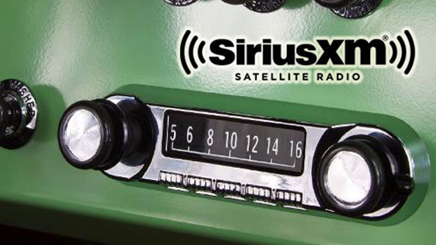 "OE Style Retrosound ""Model 4"" Radio - SiriusXM, AM/FM, Bluetooth, USB & Ipod/Iphone"