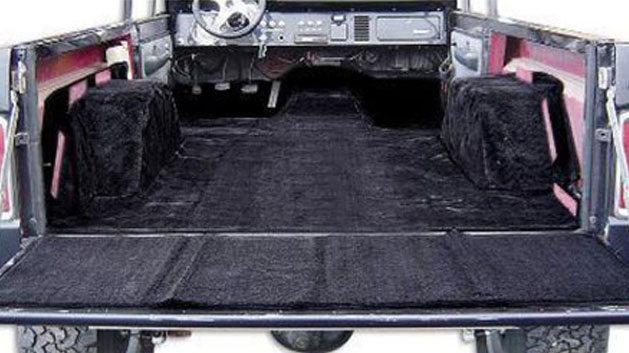 STANDARD Black Full Carpet Kit, 66-77 Ford Bronco