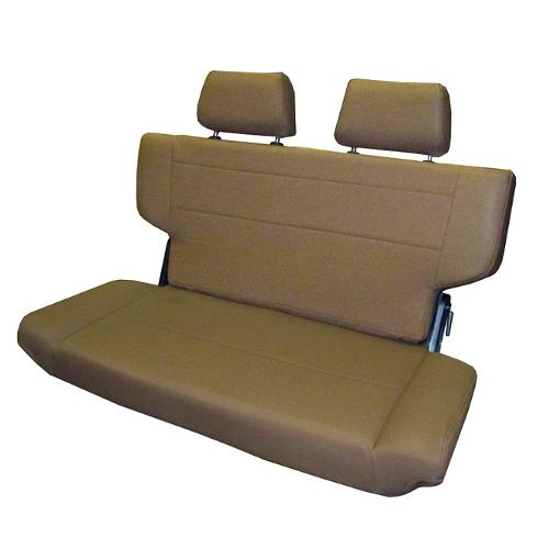 "Rear Bench Seat, Fold & Tumble, Spice, 40"" Wide, Blemished RATING 3"