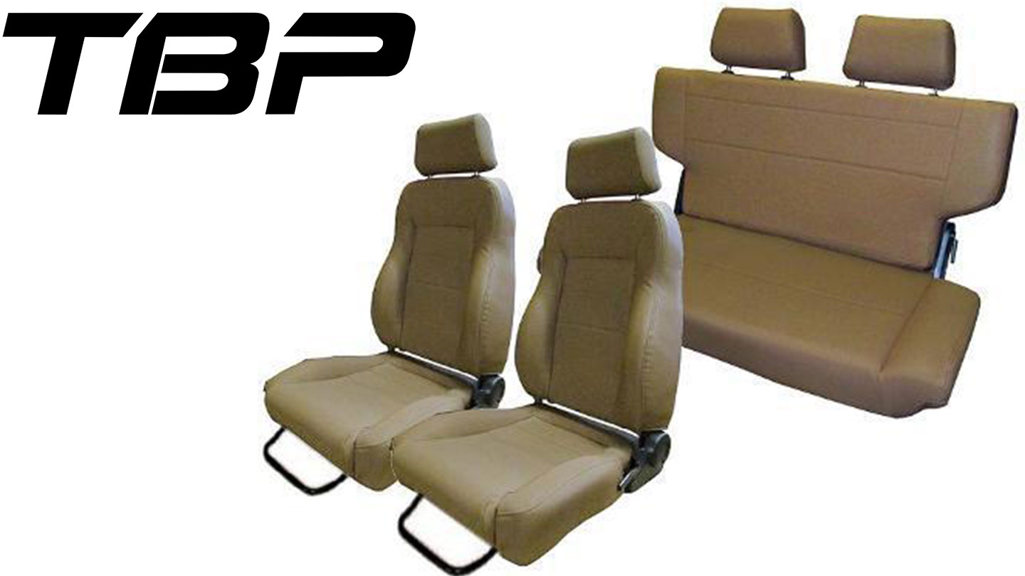 Complete Set of Custom Seats, Spice