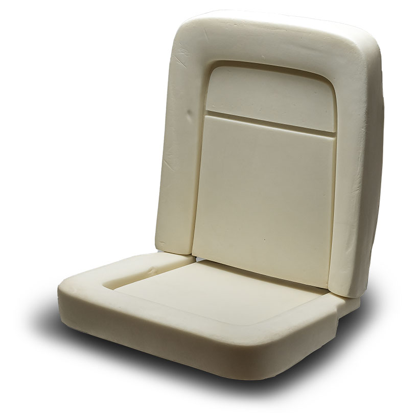 Front Bucket Seat Foam, 67-77 Ford Bronco (Does 1 Seat)