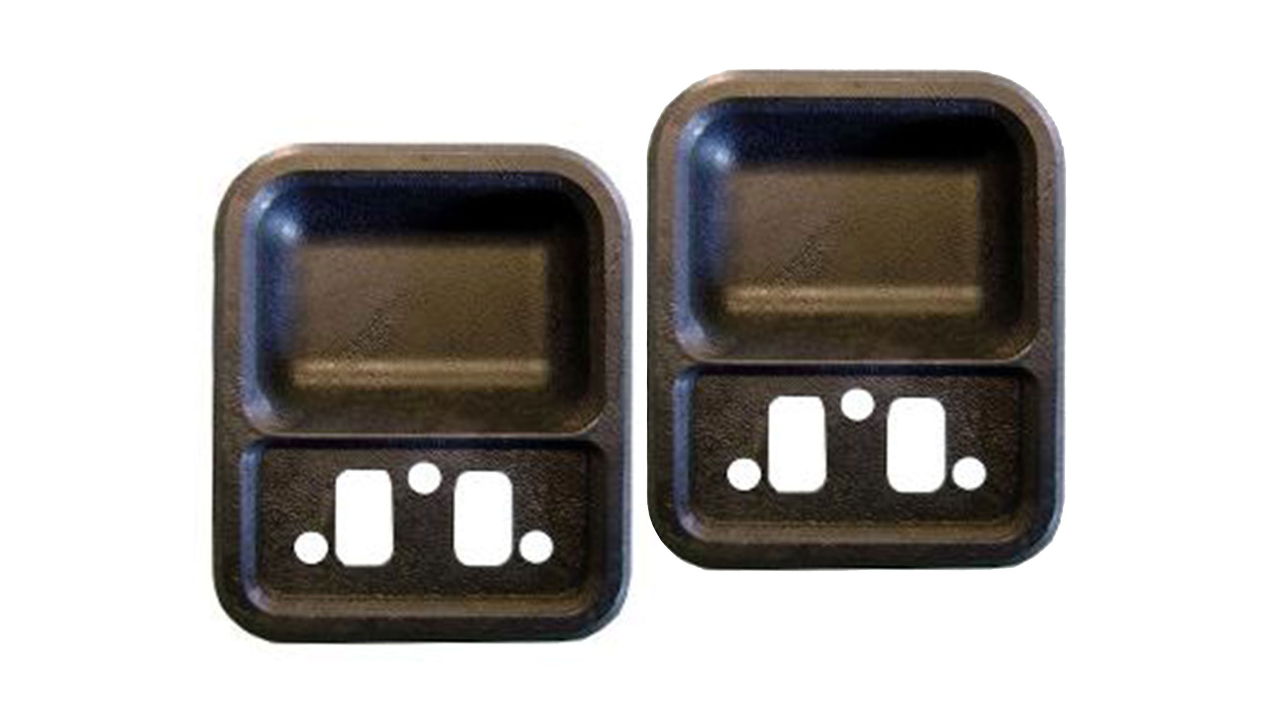 Door Cups - Black, 68-77 Ford Bronco (pair)