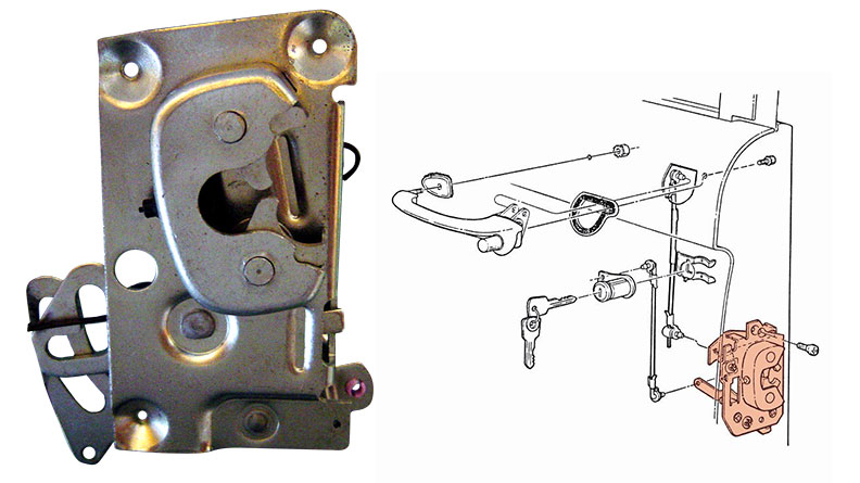 Door Latches & Components - Toms Bronco Parts
