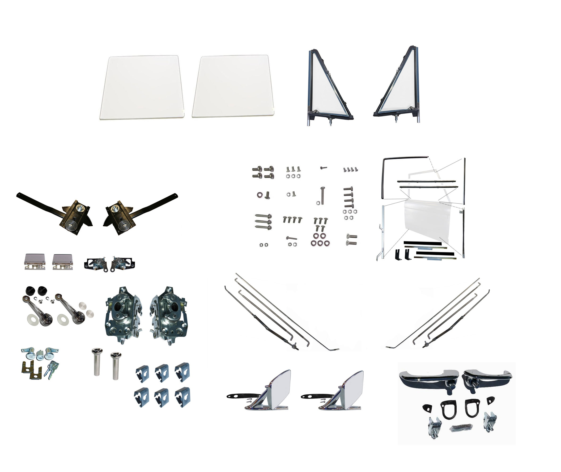 Image for product door-rebuild-kit---driver-passenger-68-77