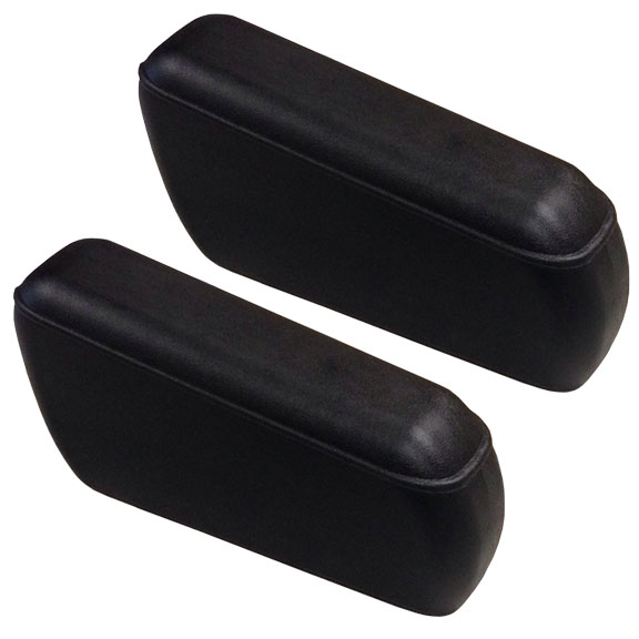 Rear Bench Seat Arm Rests - Black, OE Style, pair