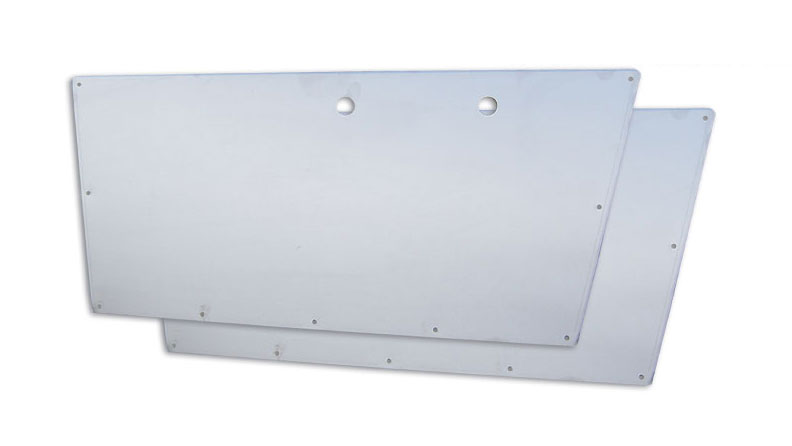 Door Panels - Stainless Steel, 66-67 Ford Bronco (pair)