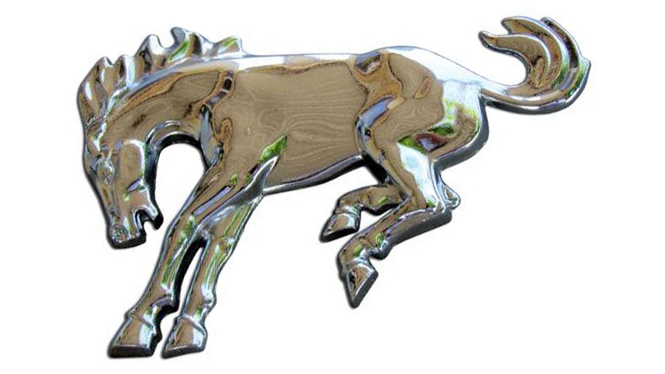 """Fender Script Emblem - Bronco """"Horse"""""""