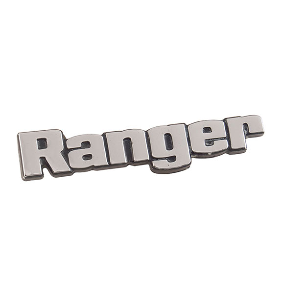"""RANGER"" Glove Box Door Emblem, NEW"
