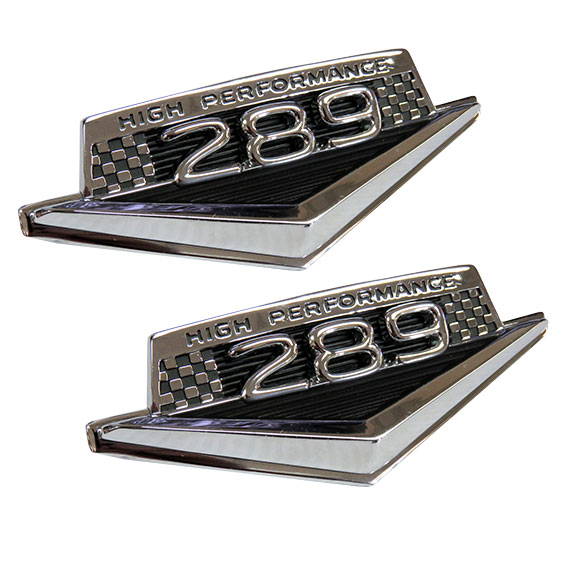 "Fender Emblem Kit - 289 ""High Performance"", Full Set"