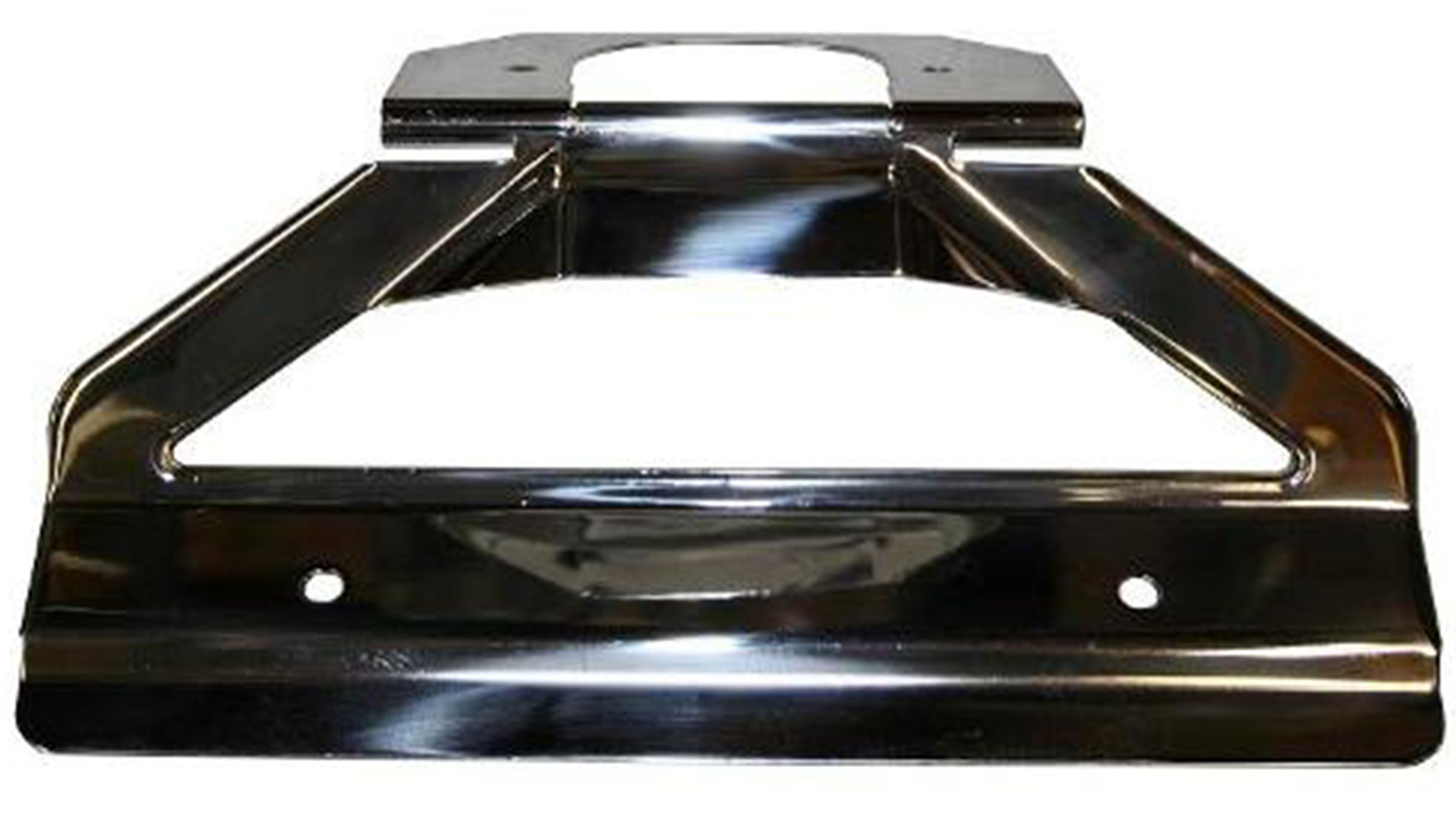 License Plate Bracket - Polished Stainless Steel
