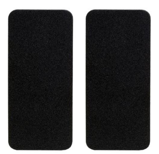 Tailgate Support Anti-Rattle Pads, New, pair
