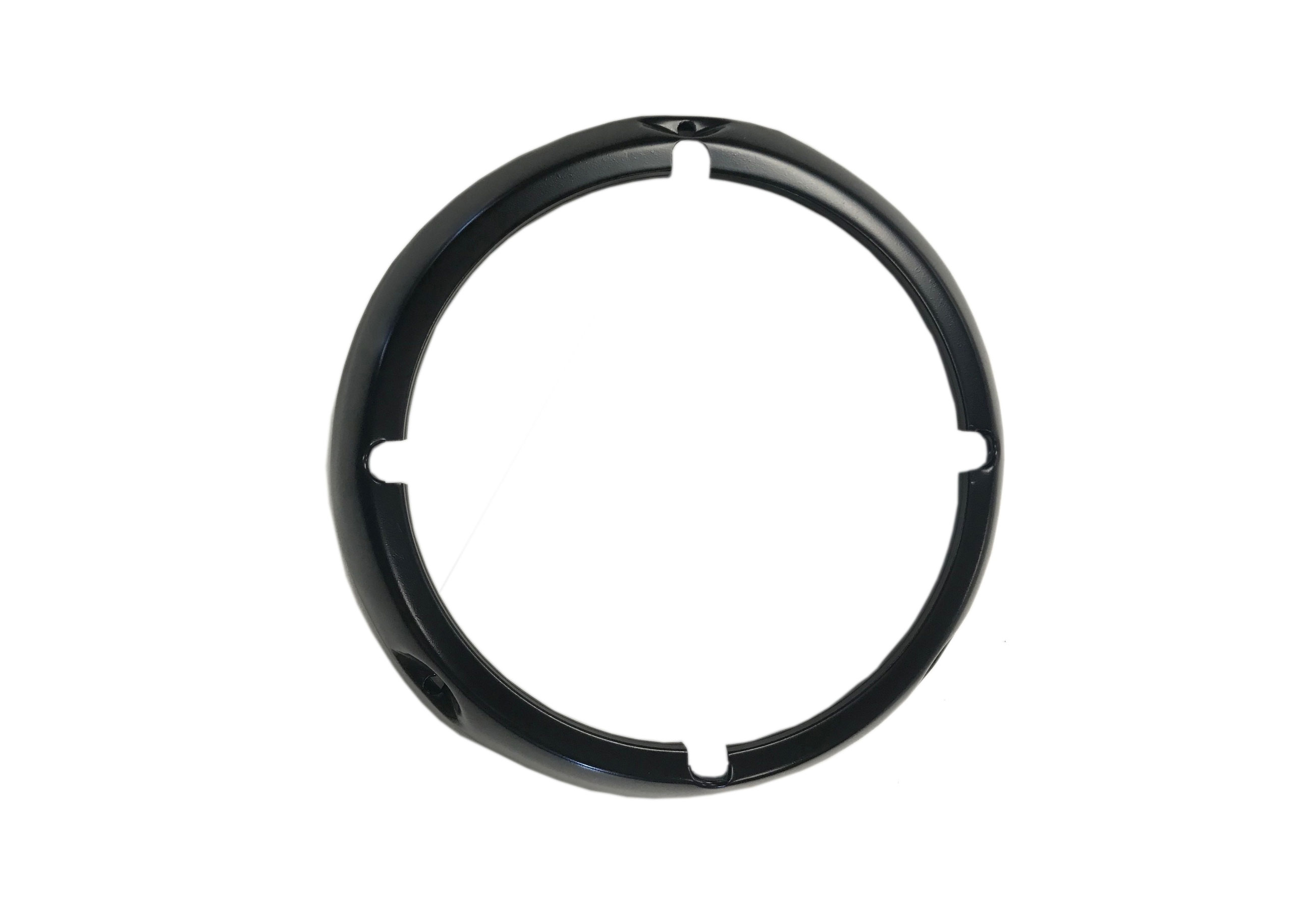 Black Headlight Bezel Ring, 71-77 Ford Bronco