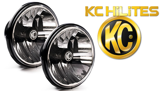 KC Hilites LED Gravity Chrome Headlights, PAIR *Free Shipping