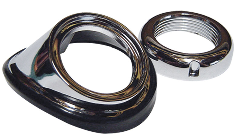 Chrome Antenna Dress Up Kit (Bezel, Nut & Gasket)