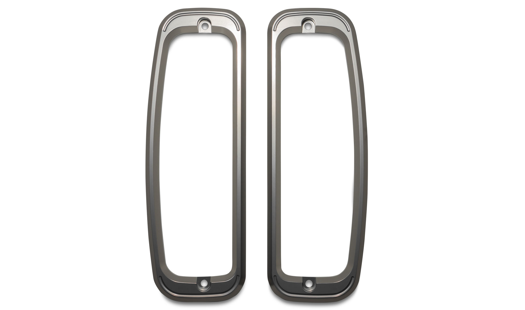 Billet Aluminum Tail Light Bezels, pair