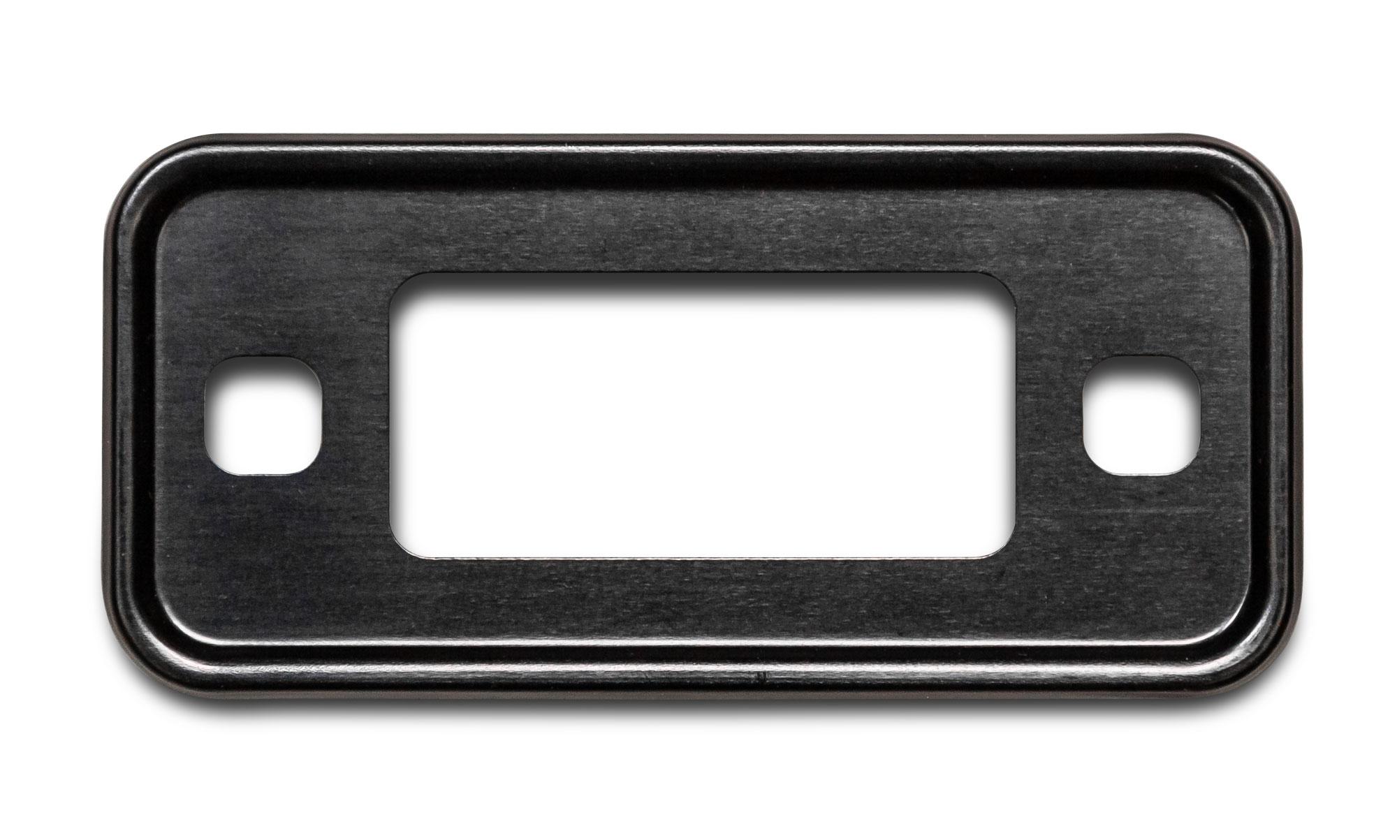 Black Marker Light Bezel - 70-77 Ford Bronco (each)