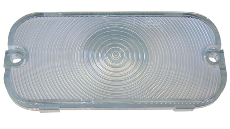 Turn Signal Lens - Clear, 66-68 Ford Bronco (each)