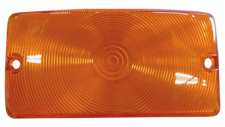 Turn Signal Lens - Amber, 69-77 Ford Bronco (each)