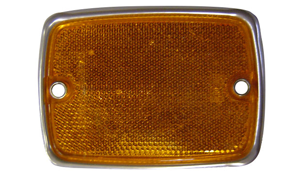 Side Reflector - Front, Amber, 1967 Ford Bronco (each)