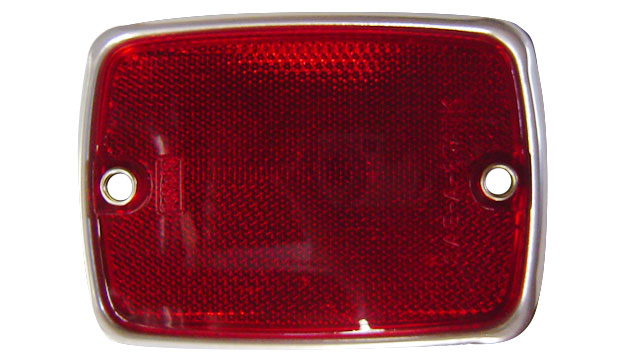 Side Reflector - Rear, Red, 1967 Ford Bronco (each)