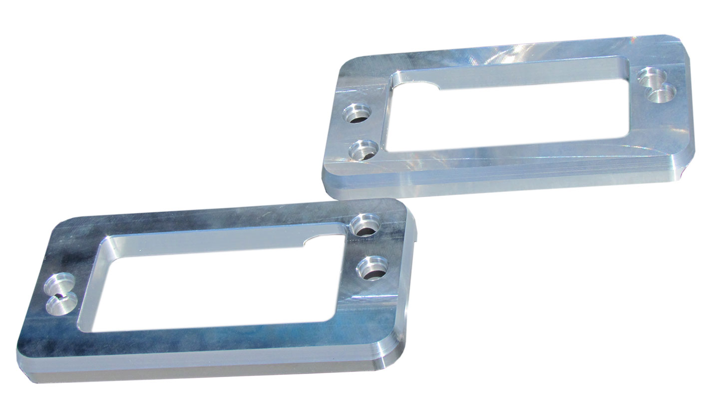 Billet Aluminum Turn Signal Pads/Bezels - 69-77 Ford Bronco, pair TBP EXCLUSIVE