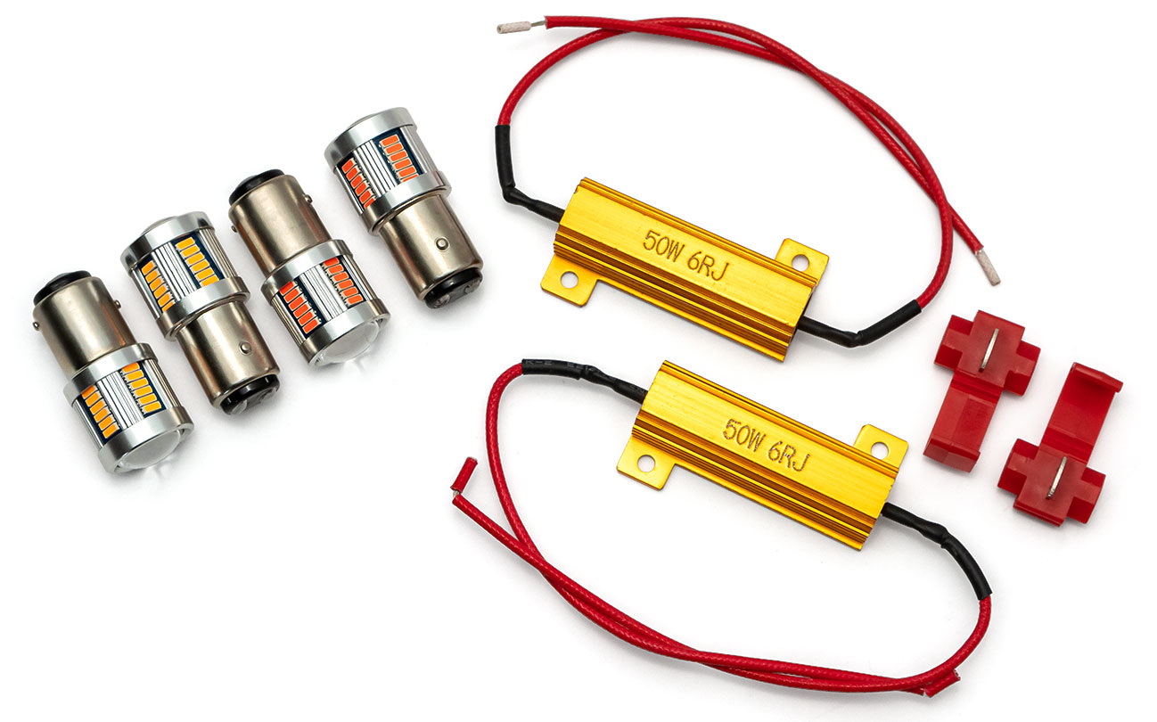 LED Bulb Kit for Exterior Lights, 1966 Ford Bronco