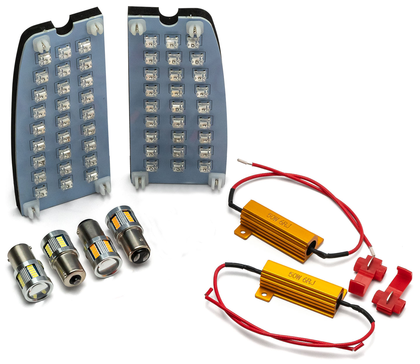 LED Exterior Light Kit w/Board Style Tail Lights, 67-69 Ford Bronco