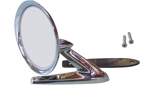 Side Mirror - Passenger or Driver, 66-67 Ford Bronco