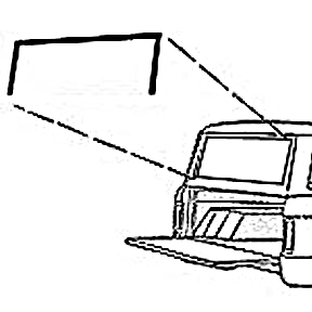 Ford Bronco Tailgate Parts Diagram