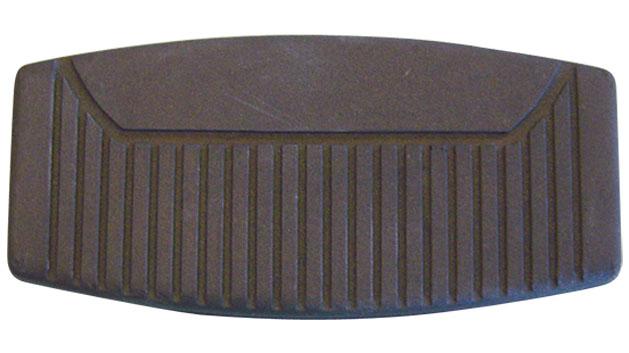 Brake Pedal Pad - Large, Disc Brake, 76-77 Ford Bronco (each)