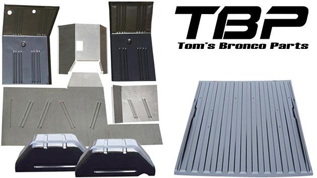 8-piece Full Floor Pans Replacement Kit