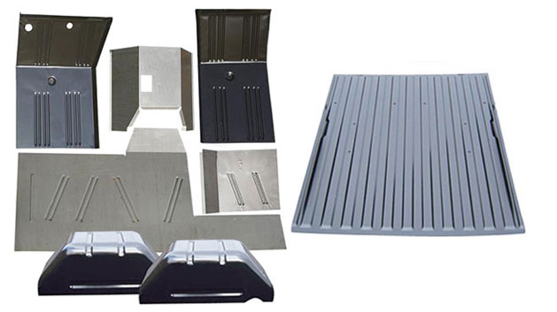 8-piece Full Floor Pans Replacement Kit
