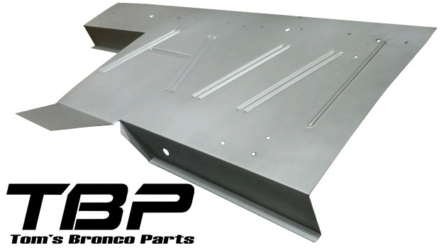 Upper Seat Platform Sheetmetal, 66-77 Ford Bronco, New