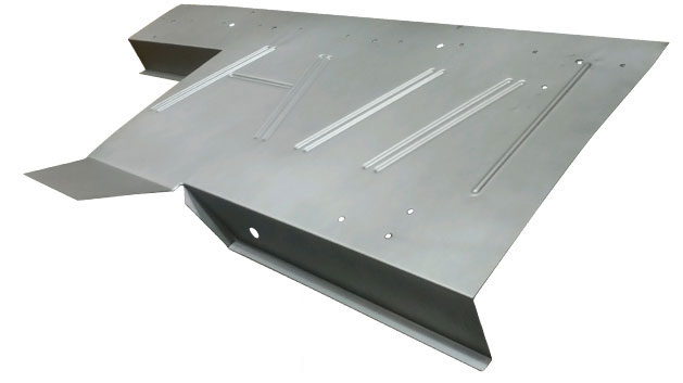 Upper Seat Platform Sheetmetal, 66-77 Ford Bronco