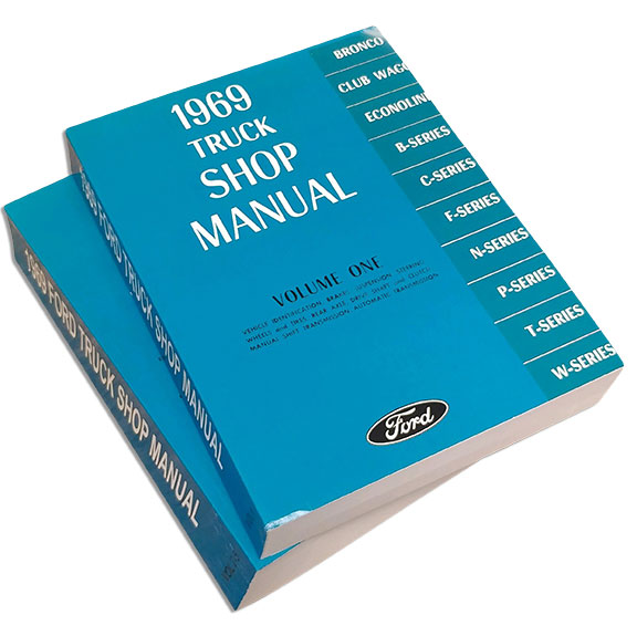 1969 Ford Truck Shop Manual Reprint